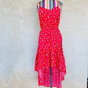O'Neill Red High-Low Girls' Sunkissed Dress
